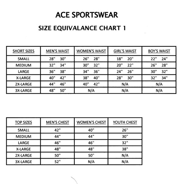 Children's sizes, US sizes. With the charts below, you'll find out your child's clothing size, in US sizes. The size is based on either the child's weight and length in pounds and inches, or on specific measurements (chest, waist and hip).